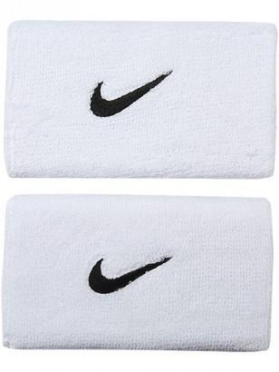 Напульсник Nike Swoosh Double-Wide white/black