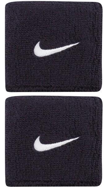 Напульсник Nike Swoosh obsidian/white