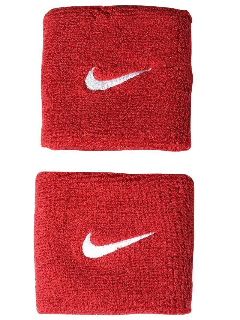 Напульсник Nike Swoosh varsity red/white