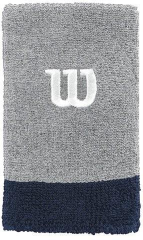 Напульсник Wilson Extra Wide heather grey/navy/white