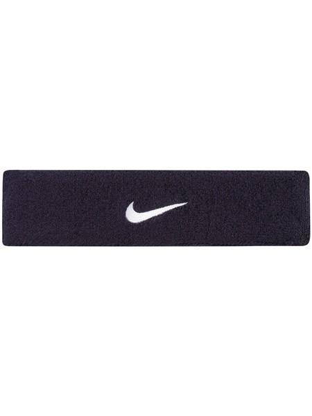 Повязка на голову Nike Swoosh Headband obsidian/white