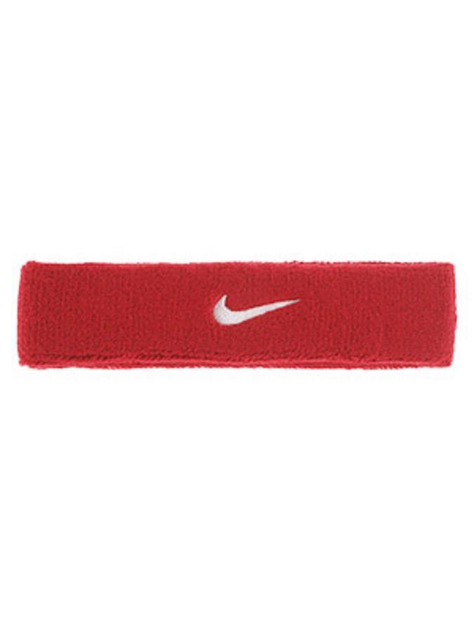 Повязка на голову Nike Swoosh Headband red/white