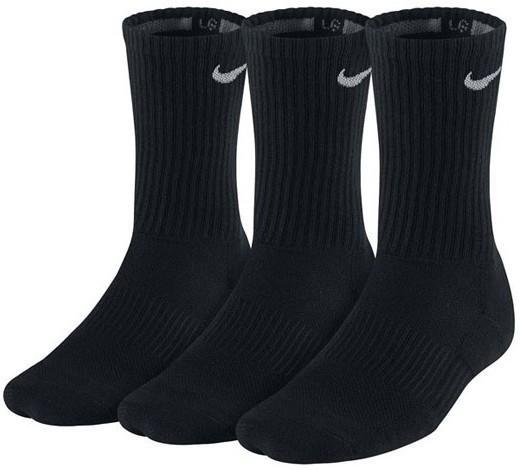 Nike Performance Cotton Cushioned Crew 3-pack/black