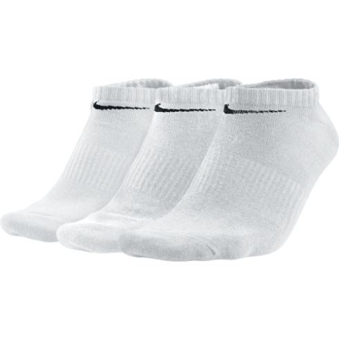 Nike Performance Cotton Lightweight No Show 3-pack/white