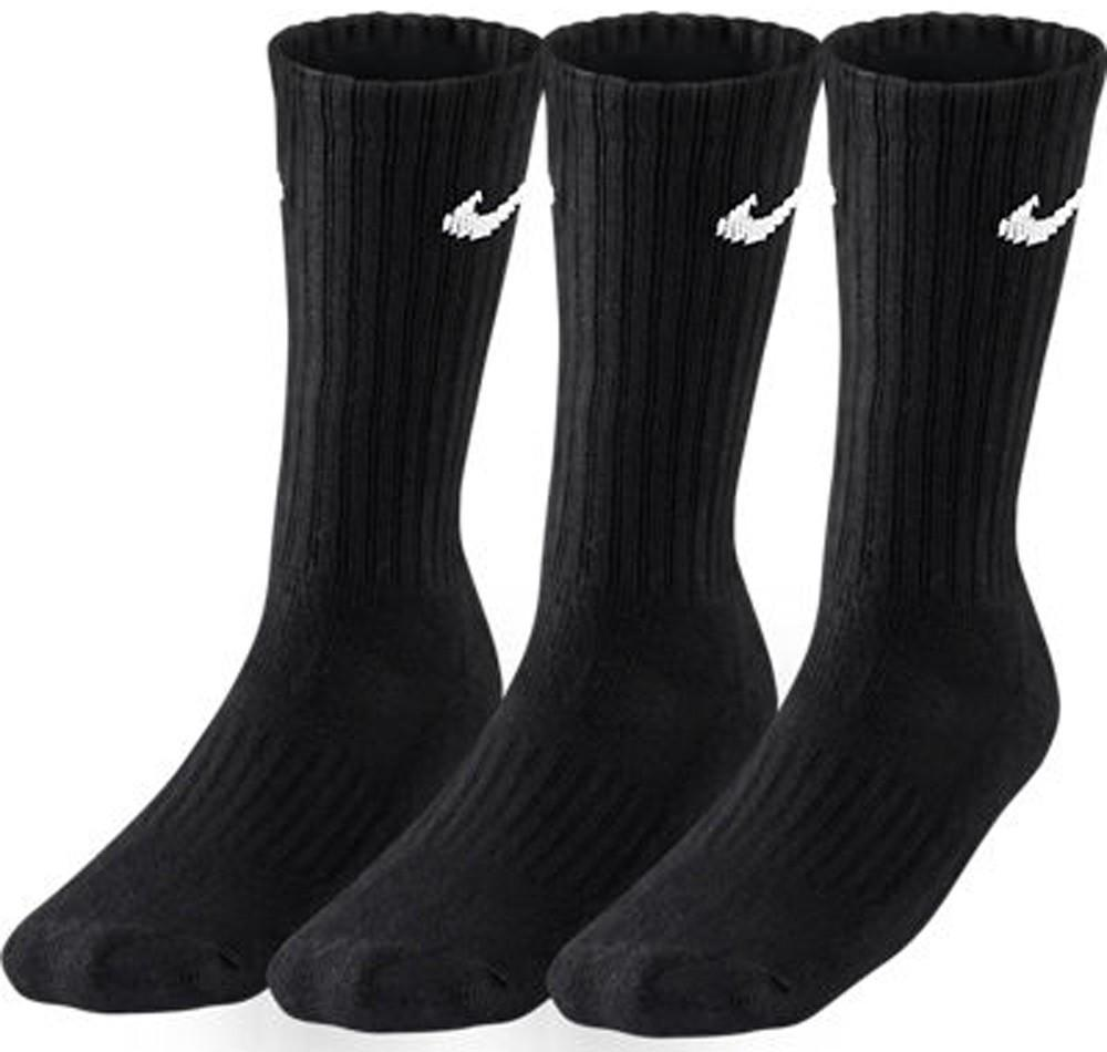 Nike Value Cotton Cushioned Crew 3-pack/black