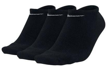 Nike Value Cotton Lightweight No Show 3-pack/black