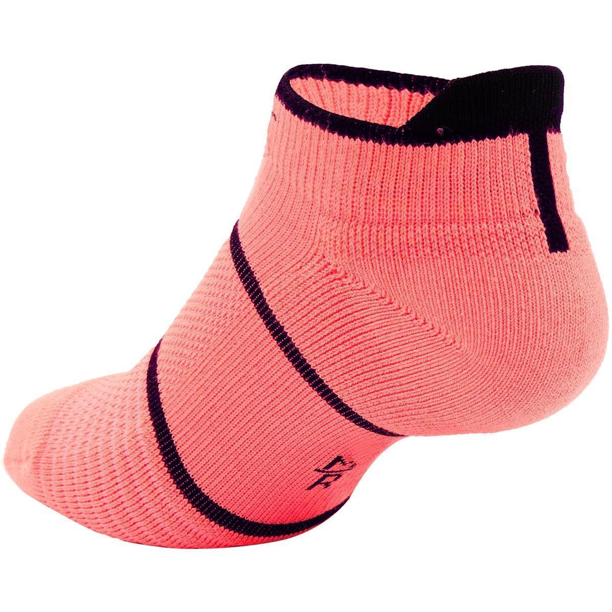 Носки теннисные Nike Court Essential No Show 1 пара lava glow/black