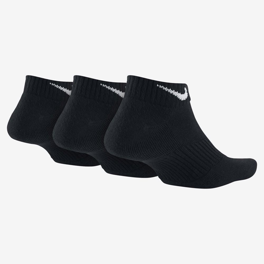 Носки дитячі Nike Performance Cotton Cushioned No Show Junior  3-pack/black