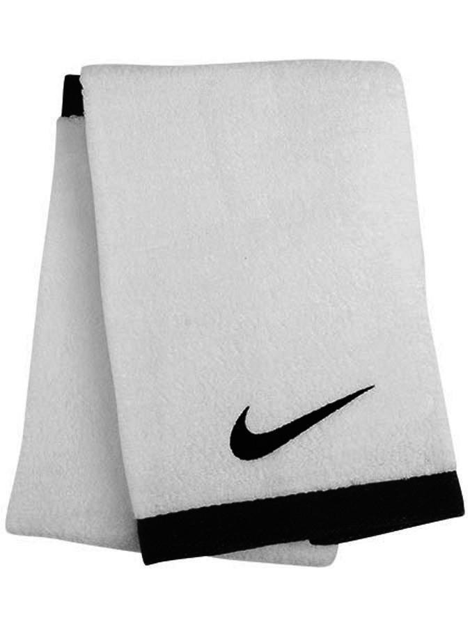 Nike Fundamental Towel Large white/black