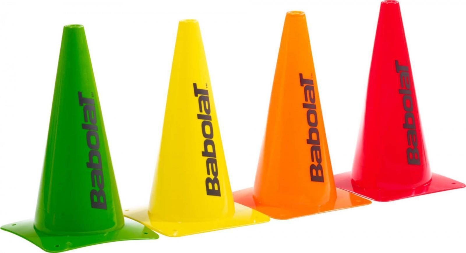 Конусы тренировочные Babolat Large Cones 30 cm - 8 шт.