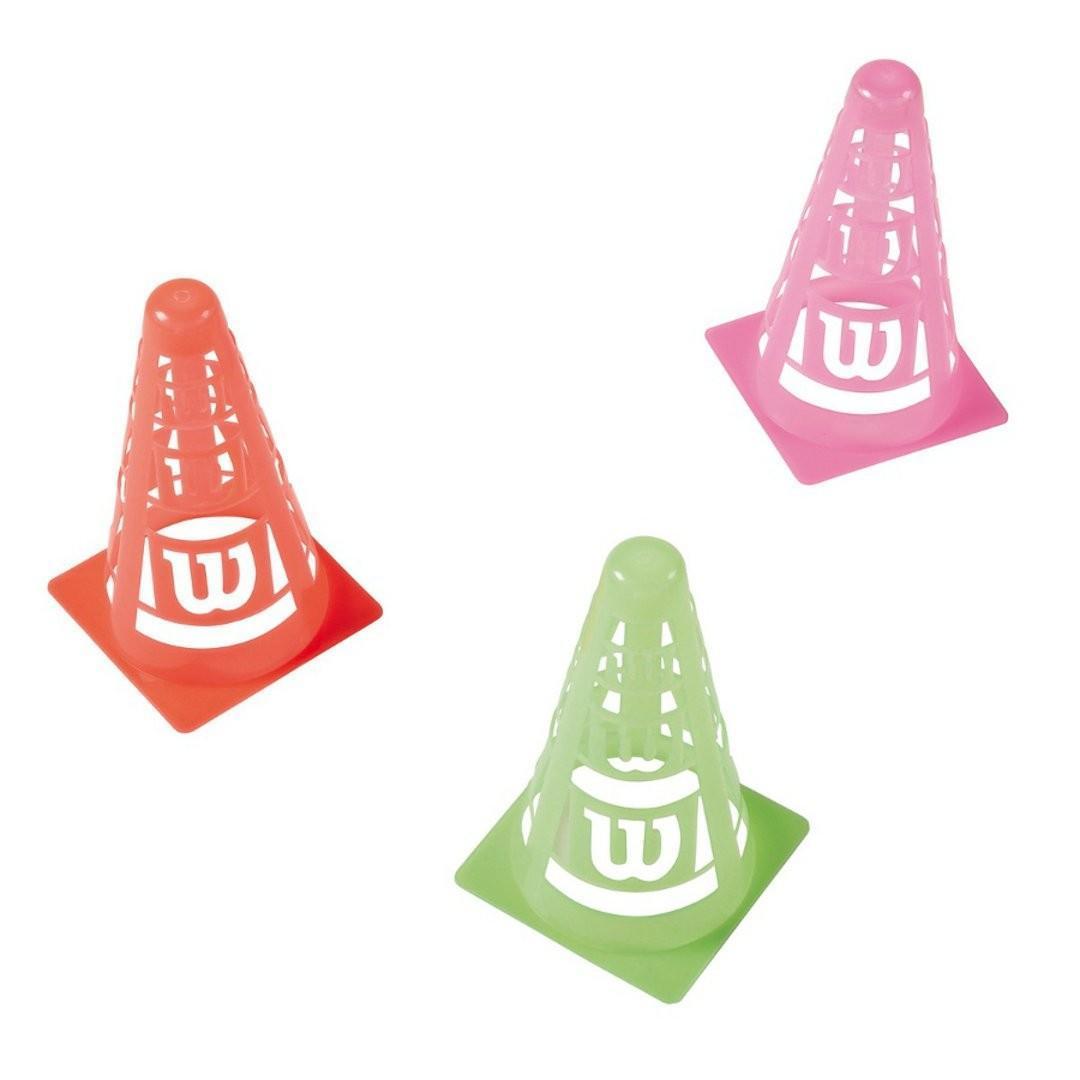 Конусы тренировочные Wilson Marker Cones - 6 шт.