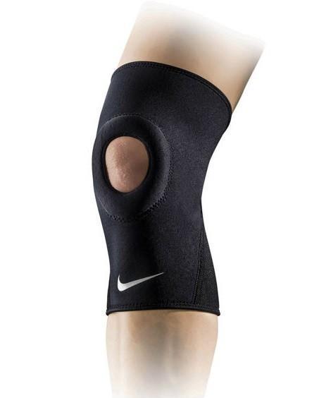 Nike Pro Combat Open Patella Knee Sleeve black наколенник