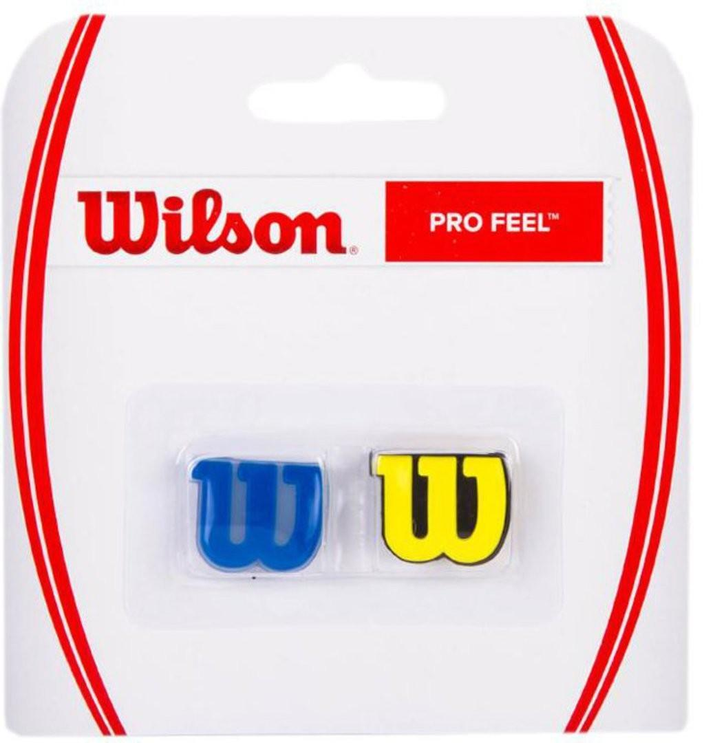 Виброгаситель Wilson Pro Feel blue/yellow