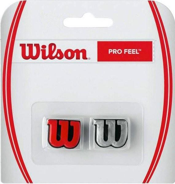 Виброгаситель Wilson Pro Feel silver/red