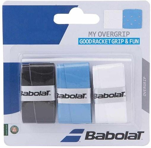 Намотка Babolat My Overgrip (3 шт.) black/blue/white