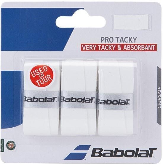 Намотка Babolat Pro Tacky (3 шт.) white