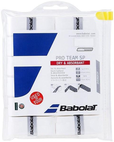Намотка Babolat Pro Team SilkPowder (12 шт.) white