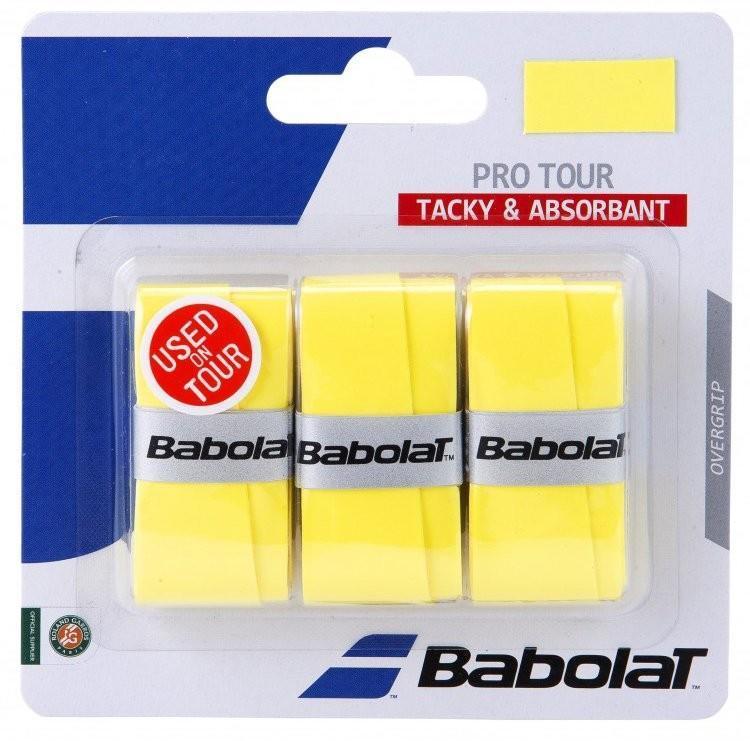 Намотка Babolat Pro Tour (3 шт.) yellow