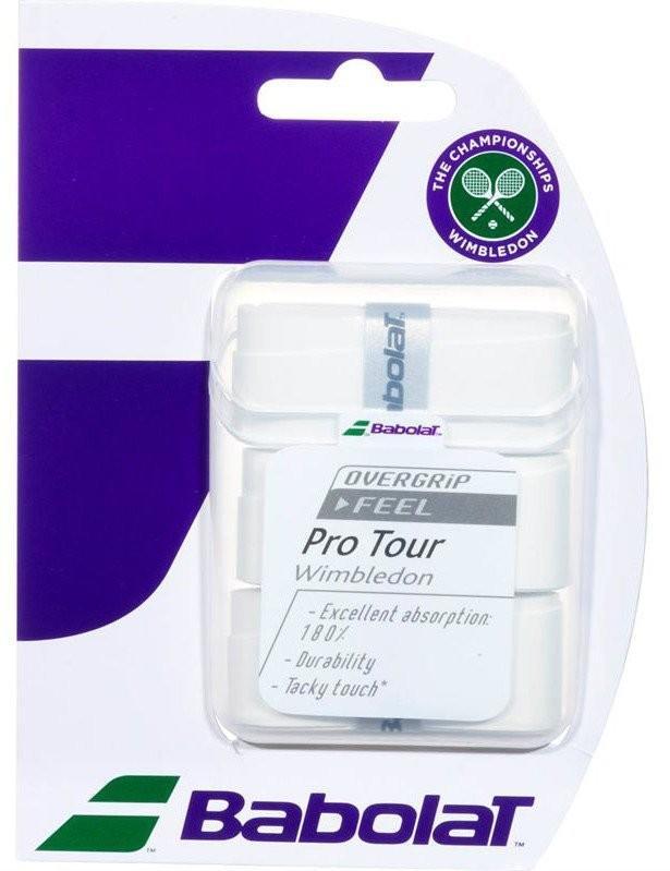 Намотка Babolat Pro Tour Wimbledon 2016 (3 шт.) white