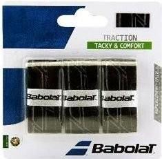 Намотка Babolat Traction (3 шт.) black