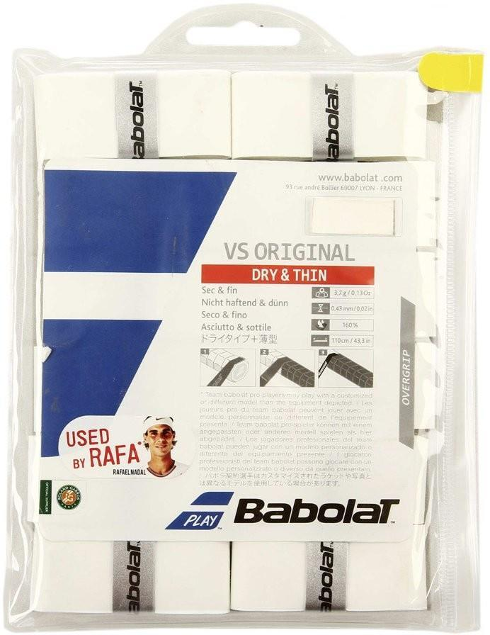 Намотка Babolat VS Grip Original (12 шт.) white