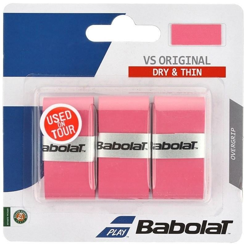 Намотка Babolat VS Grip Original (3 шт.) pink