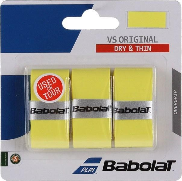 Намотка Babolat VS Grip Original (3 шт.) yellow