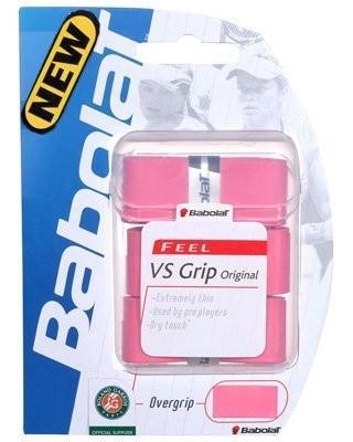 Намотка Babolat VS Grip Original (feel) (3 шт.) pink