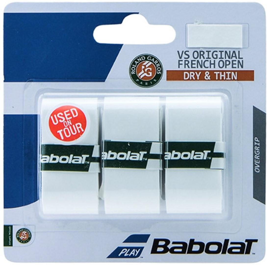 Намотка Babolat VS Grip Original Roland Garros (3 шт.) white