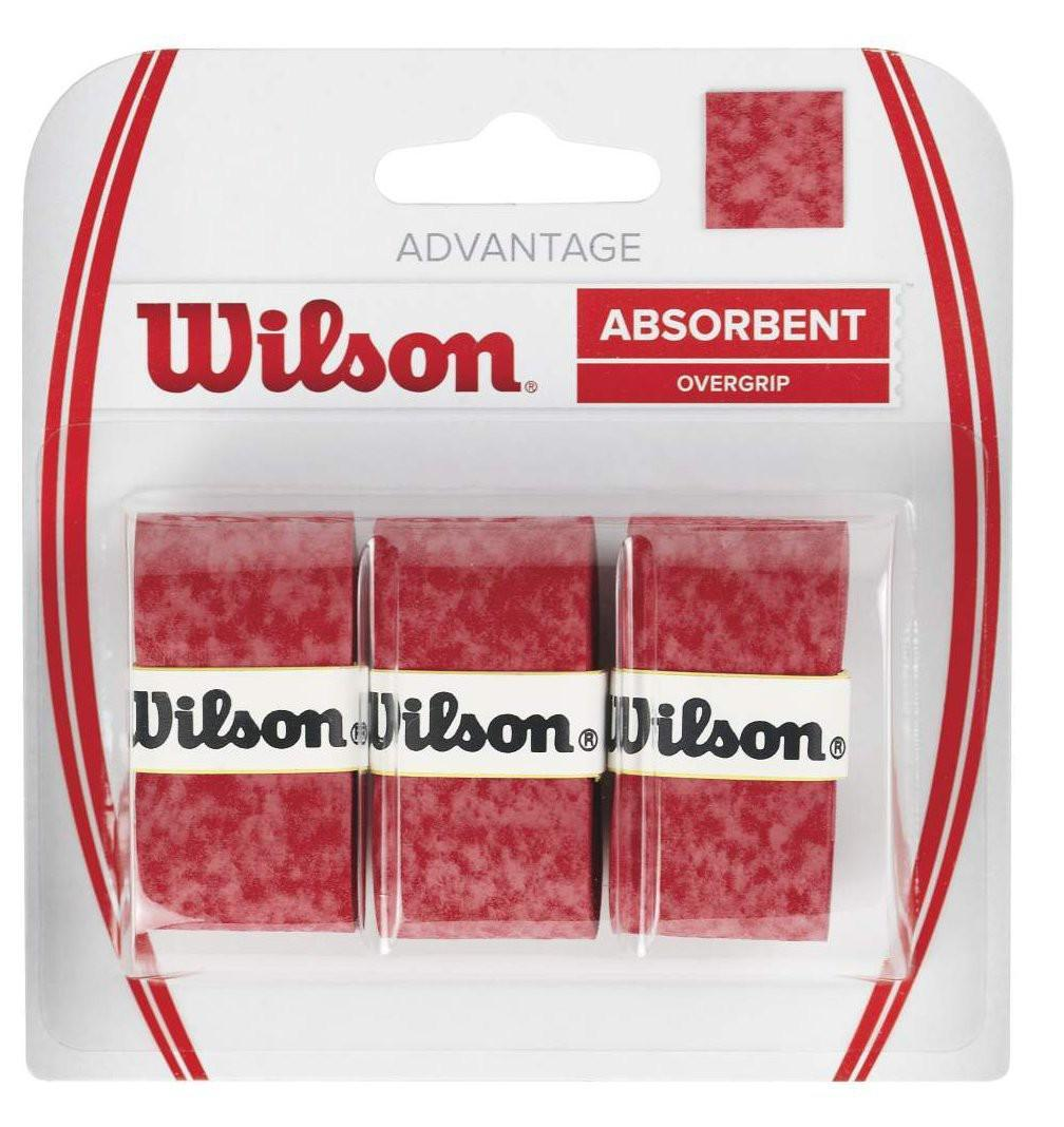 Намотка Wilson Advantage (3 шт.) red