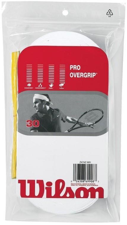Намотка Wilson Pro Overgrip (30 шт.) white