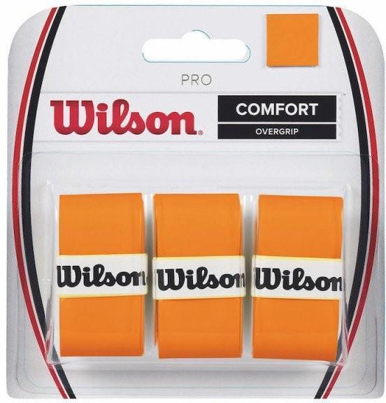 Намотка Wilson Pro Overgrip Burn (3 шт.) orange