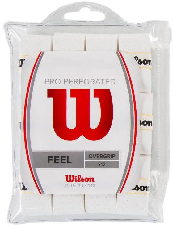 Намотка Wilson Pro Perforated (12 шт.) white