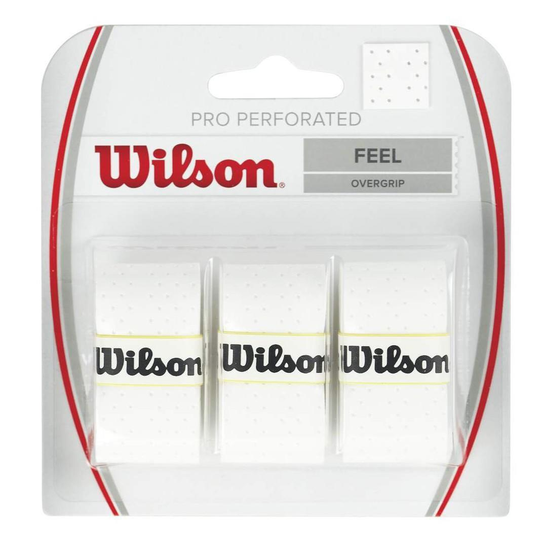 Намотка Wilson Pro Perforated (3 шт.) white