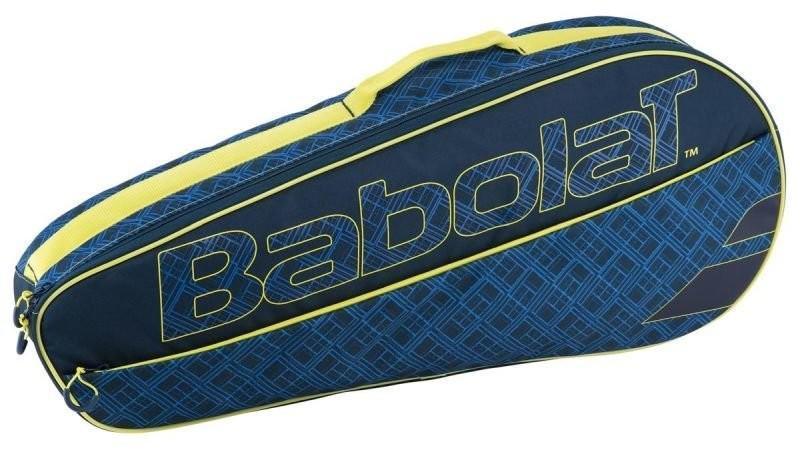 Теннисная сумка Babolat Club Line x3 Essential blue/yellow