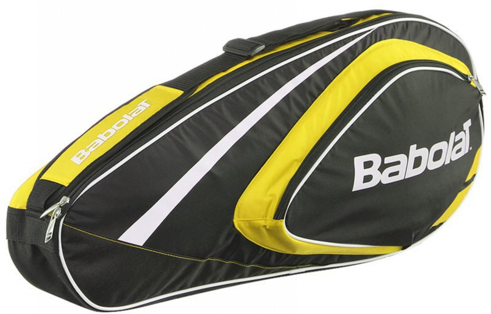 Теннисная сумка Babolat Club Line x3 yellow