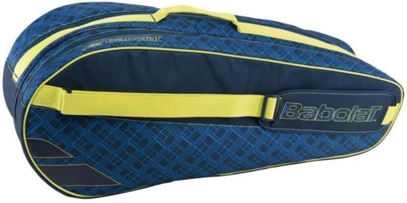 Теннисная сумка Babolat Club Line x6 Classic - blue/yellow