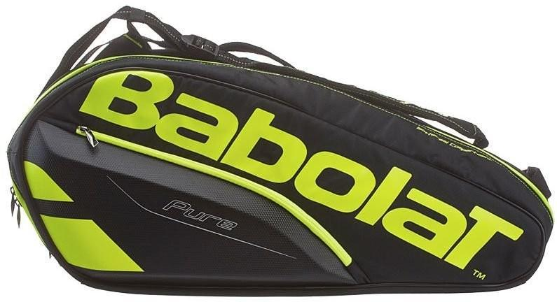 Теннисная сумка Babolat Pure Aero x6 2017 black/fluo yellow