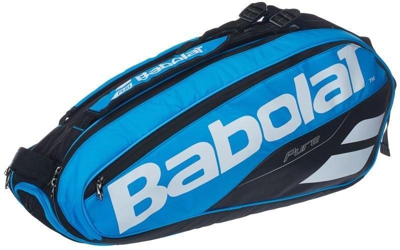 Теннисная сумка Babolat Pure Drive x6 2018 blue/white