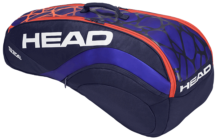 Теннисная сумка Head Radical 6R Combi blue/orange