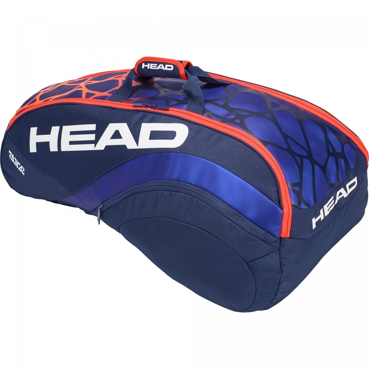 Теннисная сумка Head Radical 9R Combi blue/orange