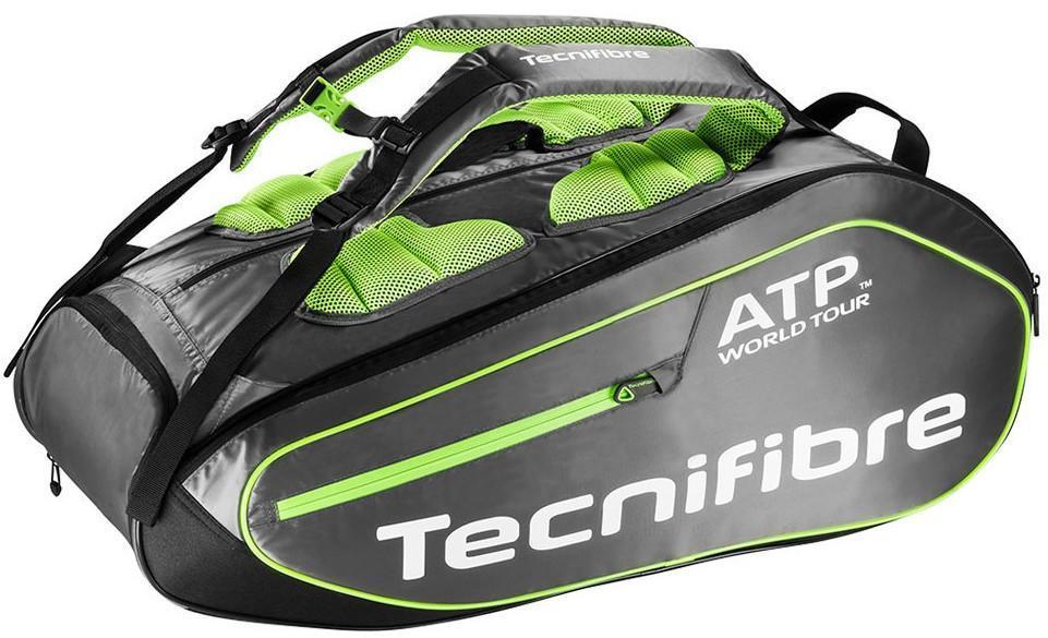 Теннисная сумка Tecnifibre Tour Ergonomy ATP 12R black/grey/lime