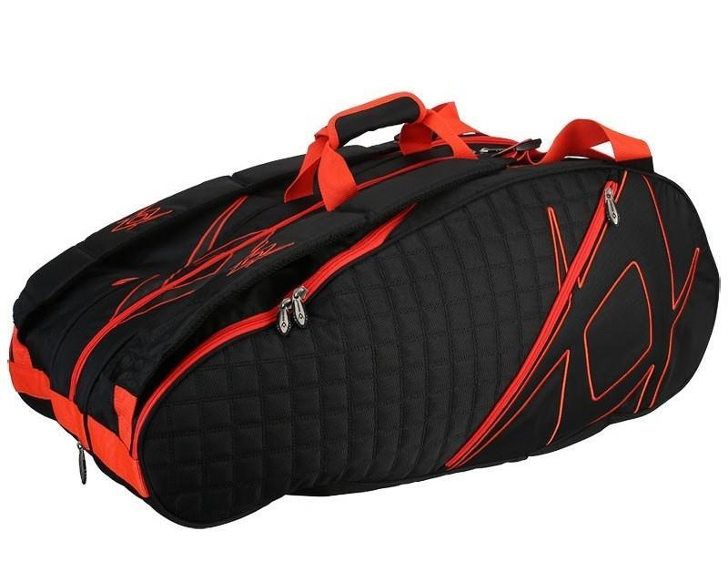 Теннисная сумка Volkl Tour 9 Pack Black/Lava Bag
