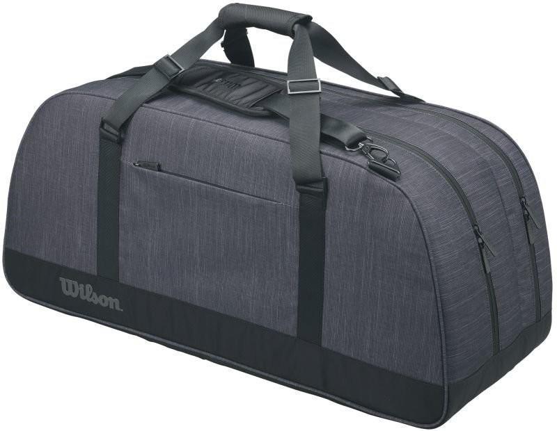 Теннисная сумка Wilson Agency Duffel Large black/grey
