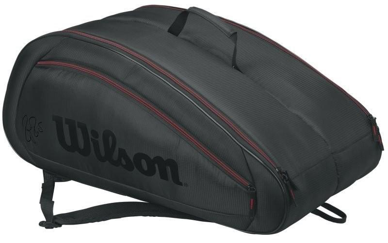 Теннисная сумка Wilson Fed Team 12 Pk Bag black/red