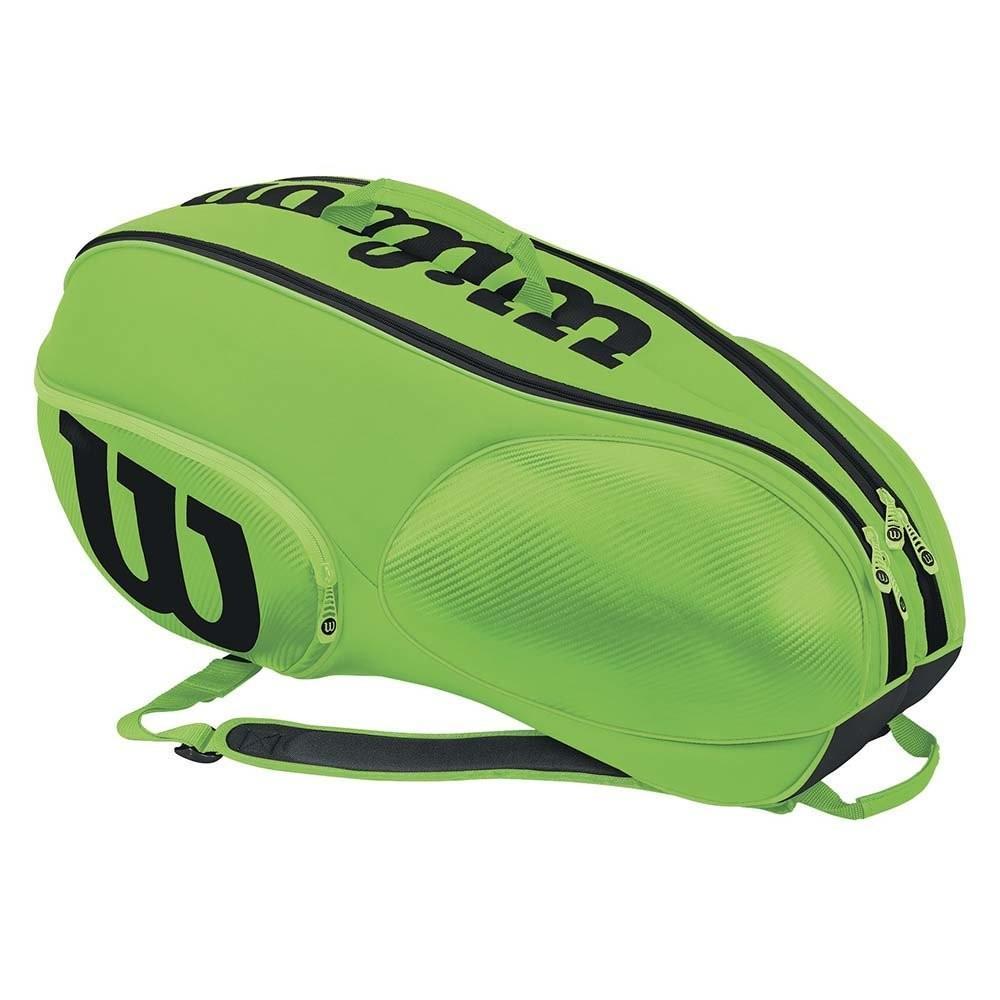 Теннисная сумка Wilson Mini Vancouver 6 Pack green/black