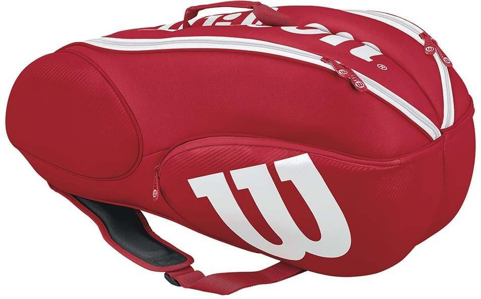 Теннисная сумка Wilson Mini Vancouver 6 Pack red/white