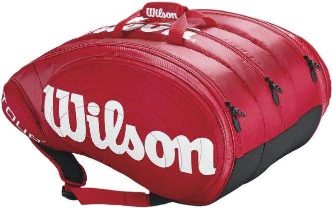 Теннисная сумка Wilson Tour 15 Pk Bag red
