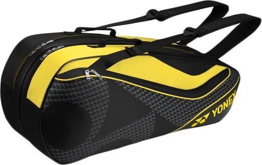 Теннисная сумка Yonex Racquet Bag 6 Pack black/acid yellow