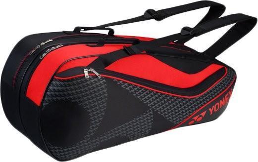Теннисная сумка Yonex Racquet Bag 6 Pack black/red